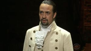 Lin Manuel Miranda as Hamilton.  He's the one thing more popular than long term Treasuries now.