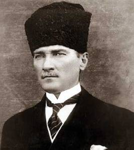 Kemal Ataturk, father of secular Turkey.