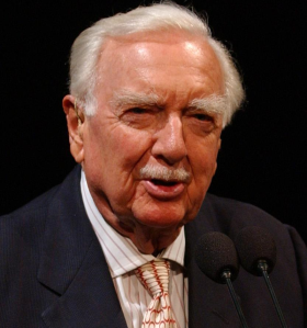 Walter Cronkite.  That's the way it was.