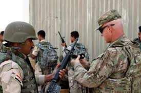The Iraqi Army is heavily defined by US advisors and arms