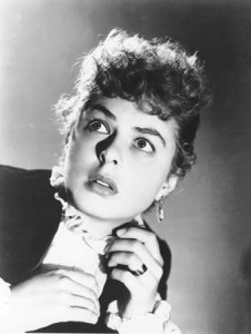 Ingrid Bergman in George Cukor's Gaslight (1944).