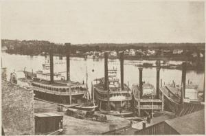 The Upper Landing of St Paul, 1859.