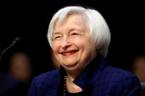 Don't be fooled - Yellen is not amused.